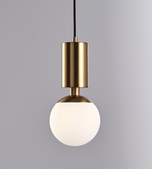 Pendants by Kaishi Lamps seen at Private Residence, Dublin - Pawn Pendant