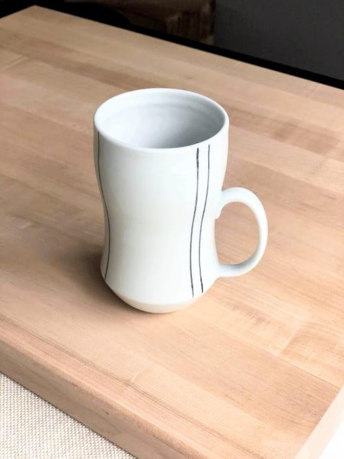 Striped Coffee Mug | Cups by Stephanie McGeorge