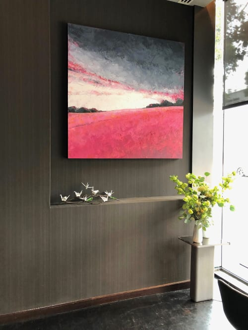 Paintings by Alison Haley Paul seen at The St. Regis San Francisco, San Francisco - Yearning