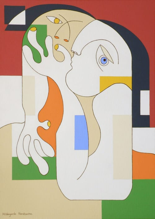 Paintings by Hildegarde Handsaeme seen at Private Residence - Belgium - Anonymus
