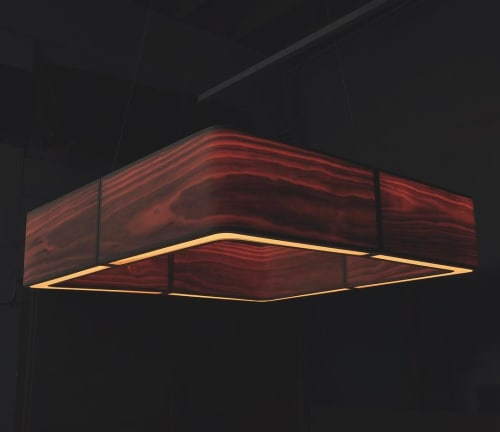 Pendants by LightLite seen at Revolution Hall, Portland - Luminal Pendants