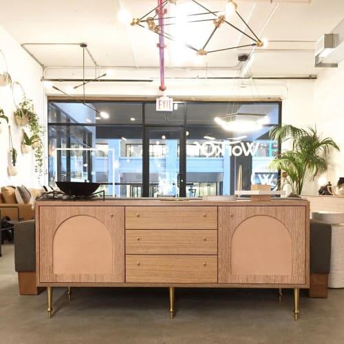 Furniture by VOLK Furniture seen at WorkOf Showroom, Brooklyn - Pacific Sideboard