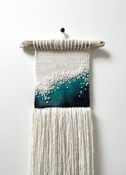Macrame Wall Hanging by Elle Collins seen at Creator's Studio, Solihull - Tonnow (wave) No.1
