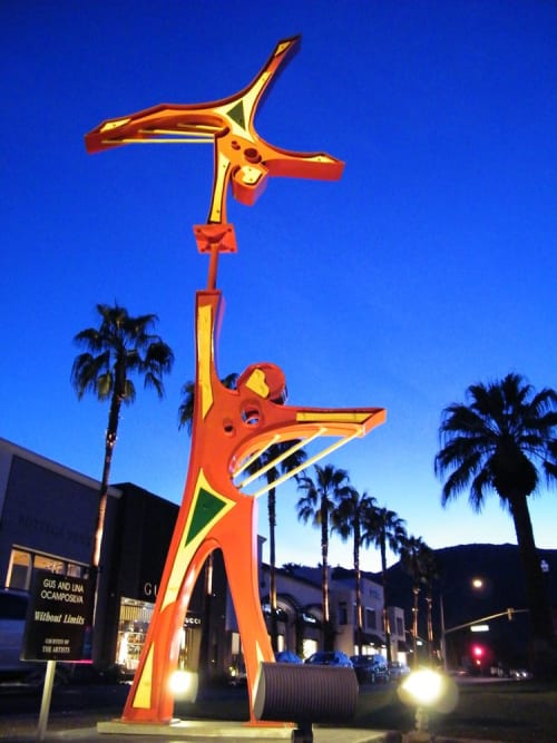 Public Sculptures by Gus Lina Fine Art seen at 525 Avenue G NW, Winter Haven - Without Limits