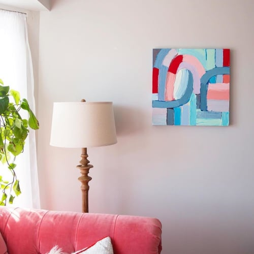 Paintings by Ann Marie Coolick Fine Art at Private Residence, Wheaton - Love No. 4