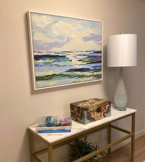 Paintings by Sarah Caton Wynne seen at Private Residence, Houston - Private Home, Houston, Texas