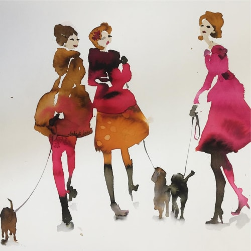 Paintings and Art & Wall Decor by Bridget Davies Art