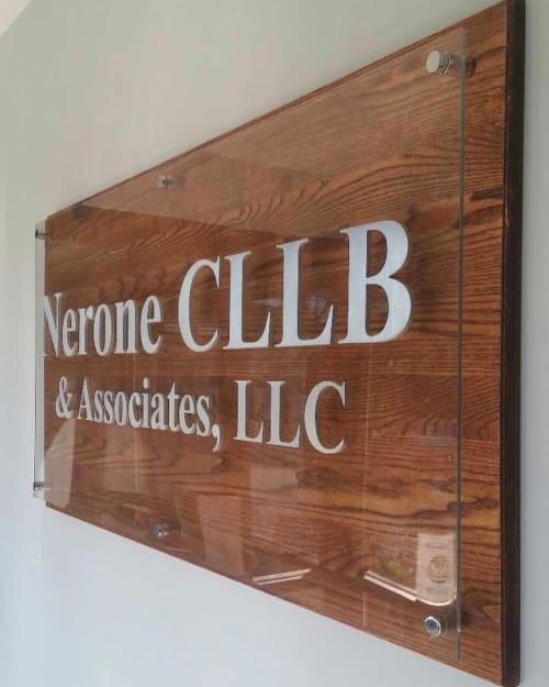 Art & Wall Decor by MWCmadeit seen at Nerone & Associates Inc, Columbus - Custom Signage