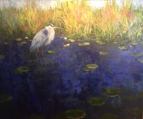 Paintings by Ken Wallin seen at Private Residence, Saint Simons Island - Painting