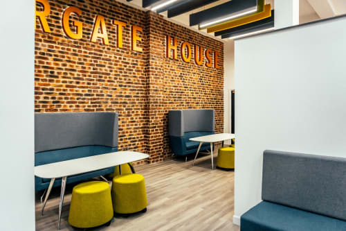 Interior Design by Absolute Commercial Interiors Ltd seen at Coppergate House, London - Coppergate House for Lenta Business Centres