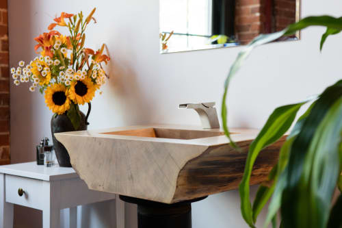 Furniture by Christian Thomas Designs seen at Private Residence, Providence, Providence - THE SLAB SINK