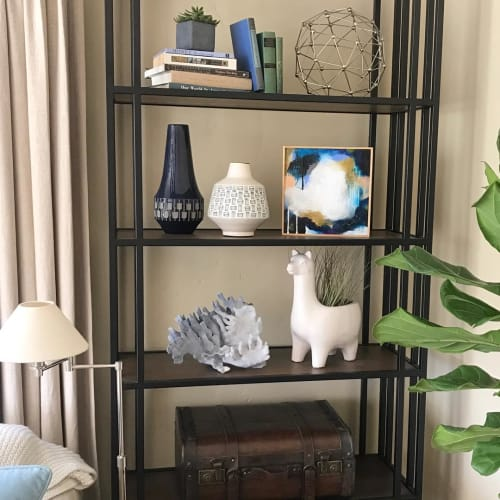 Paintings by Jennifer McHugh seen at Private Residence, San Diego - Where the City Meets the Sea