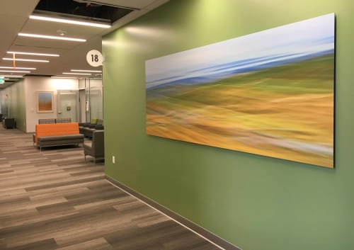 Art & Wall Decor by Rica Belna at Kaiser Permanente Santa Rosa Medical Offices, Santa Rosa - Rica Belna art, Moved Landscape