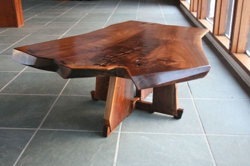 Furniture by Sojen Design seen at Private Residence, South Kingstown - Rogan Coffee Table