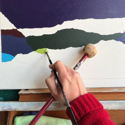 progression II   Paintings by Rafa Mateo