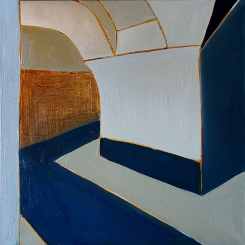 Paintings by Maria Kostareva seen at Private Residence, Darling Point - White Station