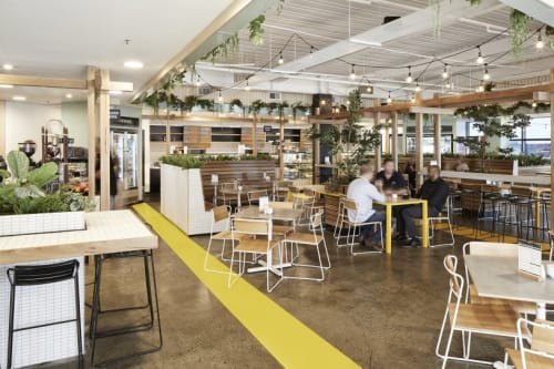 Interior Design by HOT BLACK seen at Arbor Cafe, Mulgrave - Interior Design