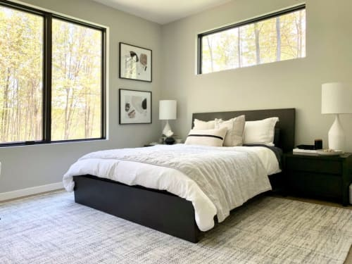 Beds & Accessories by Tovin Design Limited seen at Simply Modern Living, Grand Rapids - Reed Queen Bed