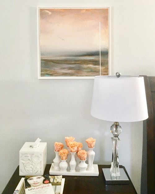 Paintings by Lesley Frenz at Private Residence, Charlotte - You Speak of Love