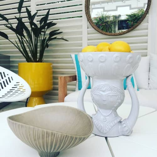 Anemone Relief Bowl   Sculptures by Jonathan Adler   Parker Palm Springs in Palm Springs