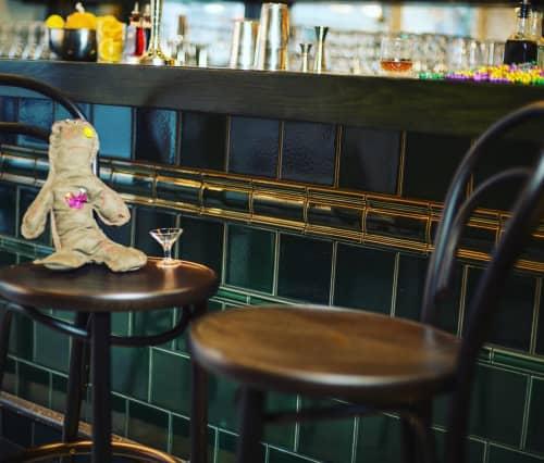Bar Tiles | Tiles by Fireclay Tile | Alba Ray's in San Francisco