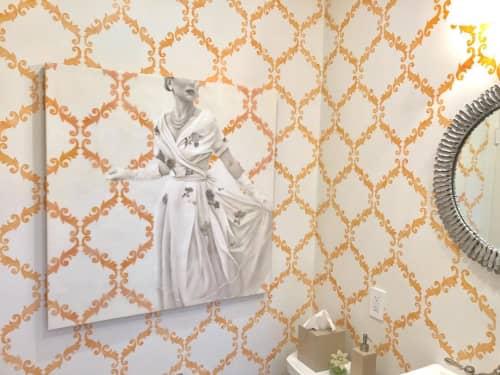 Paintings by Jhina Alvarado seen at Private Residence, San Francisco - Enchanted