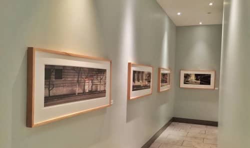 Framed Panoramic Photographs   Photography by Thomas Winz   Slanted Door in San Francisco