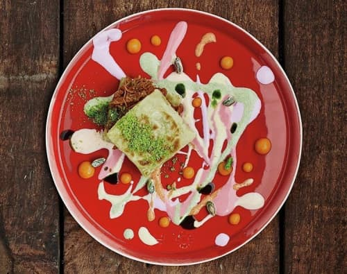 Ceramic Plates by Santimetre Studio by Tulya Madra seen at Neolokal - Flat Plate Large