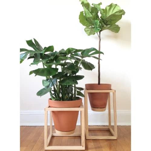 Wooden Frame Planter   Furniture by Trey Jones Studio