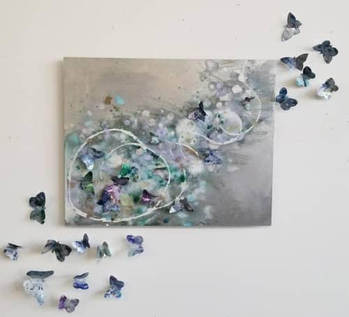 Butterflies | Wall Hangings by Cara Enteles Studio