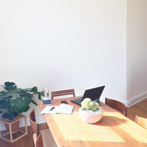 Frame Planter and Dining Table   Furniture by Trey Jones Studio   Trey Jones Studio in Washington