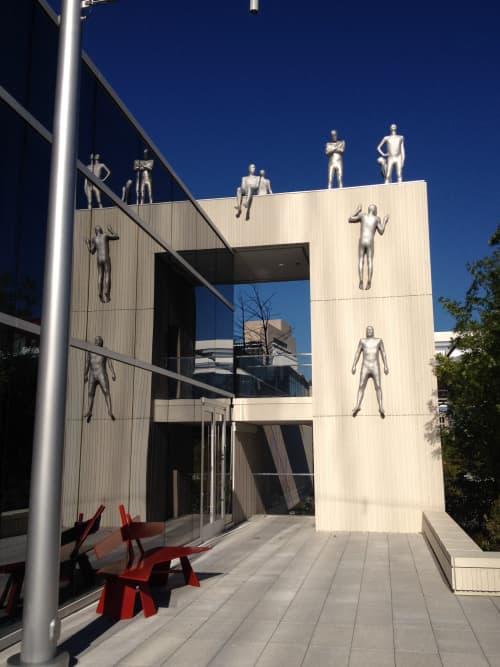 Paths   Sculptures by Steinunn Thorarinsdottir   Hall Arts, Dallas Arts District in Dallas