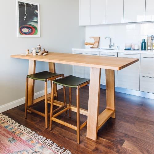 Chairs by Fyrn seen at San Francisco, CA, San Francisco - De Haro Backless Counter Stool