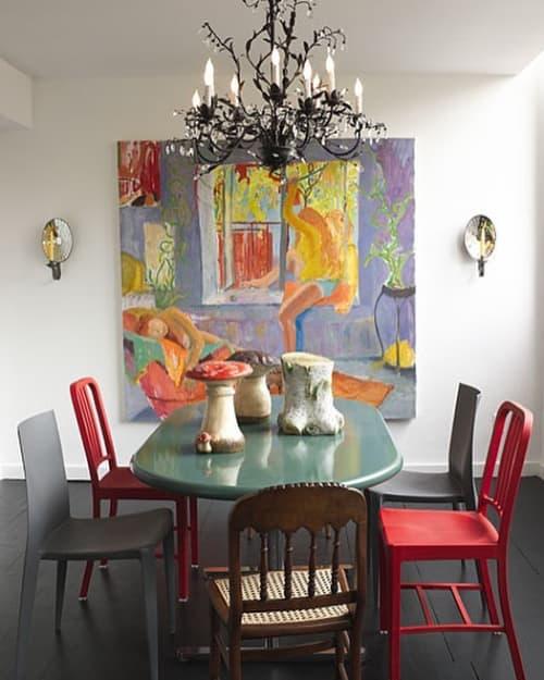 Interior Design by Harry Heissmann Inc. seen at Private Residence, New York - Interior Design