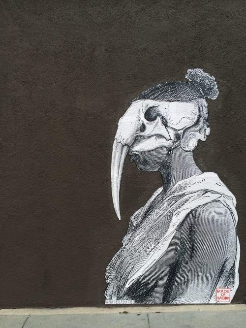 Walrus Woman | Murals by Made of Hagop | Gjelina in Los Angeles