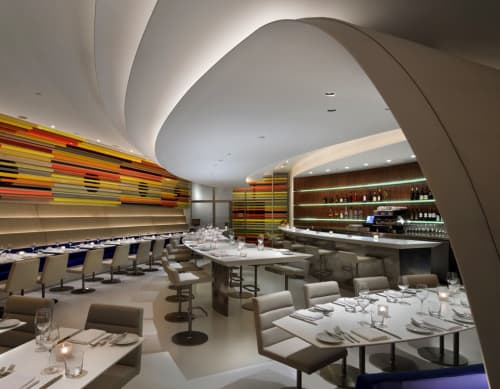 Ceiling Canopy | Interior Design by Andre Kikoski Architect | The Wright in New York