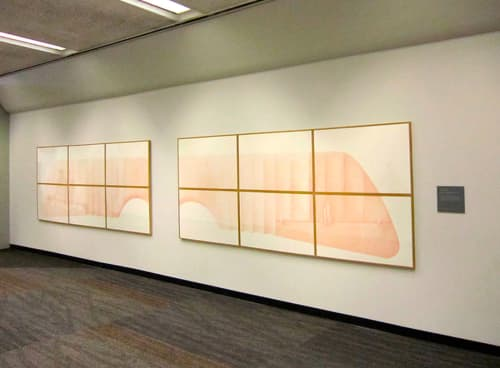 Two Wings for Wall and Person | Sculptures by Vito Acconci | San Francisco International Airport in San Francisco