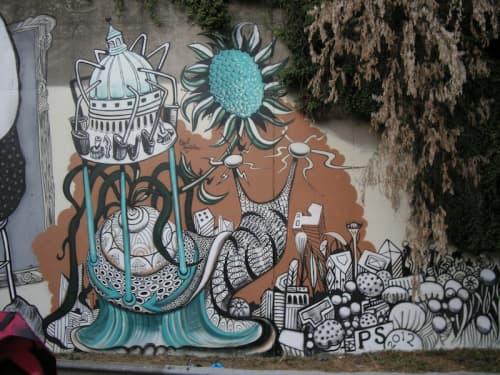 Le Voie est Libre Festival   Street Murals by Paul Santoleri