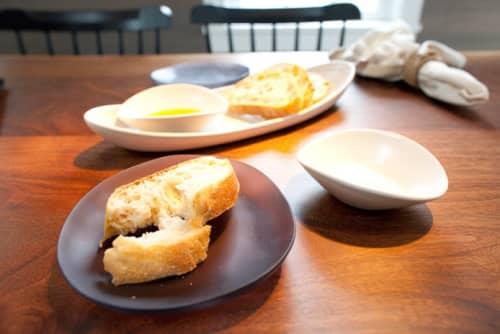 Ceramic Plates by Tina Frey seen at Community Table, Washington - Gray Small Plates