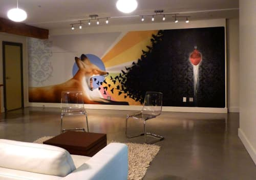 The Delicate Balance of the Heart   Murals by Leon Loucheur   Swell Music + Sound in San Francisco