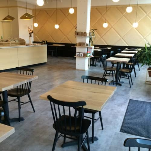 Custom Tables | Tables by Trey Jones Studio | Broadcast Coffee in Seattle