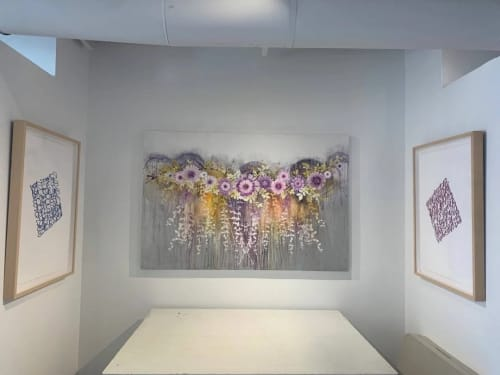 Cascade2 | Paintings by Cara Enteles Studio