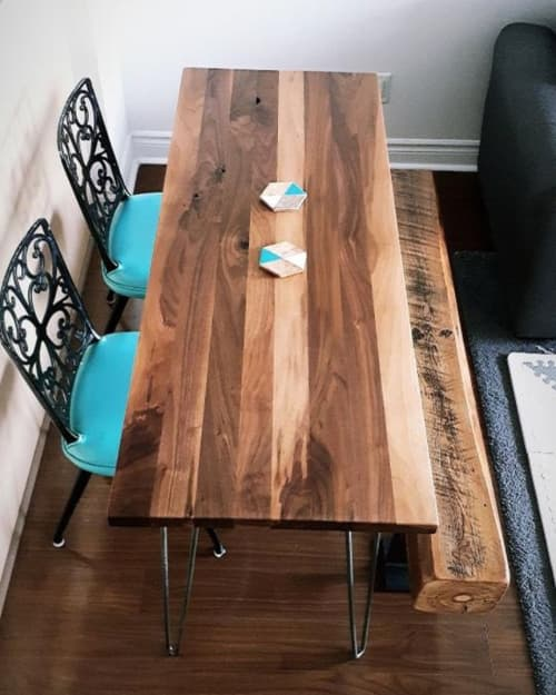 Tables by Caveman Build & Supply Co. - Walnut Table