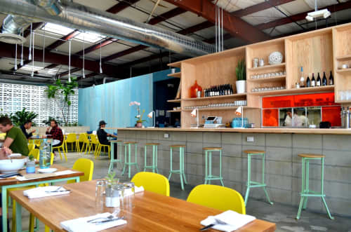 Bar Stools Angle | Chairs by Brendan Ravenhill | The Springs in Los Angeles