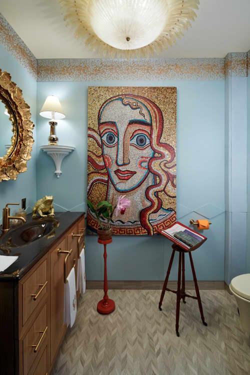 Interior Design by Harry Heissmann Inc. seen at Kips Bay Showhouse, New York - Interior Design
