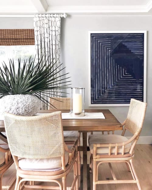 Paintings by Katie Brennan seen at Private Residence, San Diego - Blue