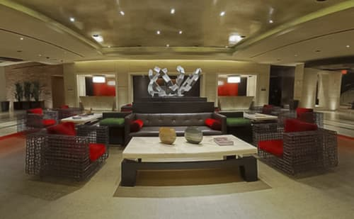 Chairs by Kenneth Cobonpue seen at Red Rock Casino Resort & Spa, Las Vegas - Ying & Yang Easy Armchair
