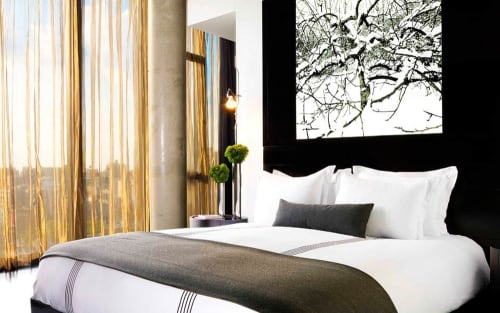 Furniture by Jim Walrod seen at SIXTY LES Hotel, New York - Room Interior