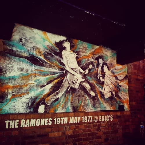 Mural | Murals by Danny O'Connor | Eric's Liverpool in Liverpool
