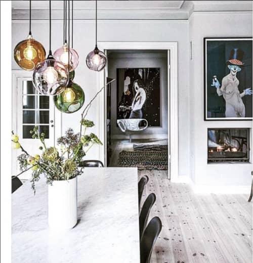 Ballroom Pendant Lights | Pendants by Marie Burgos Design and Collection
